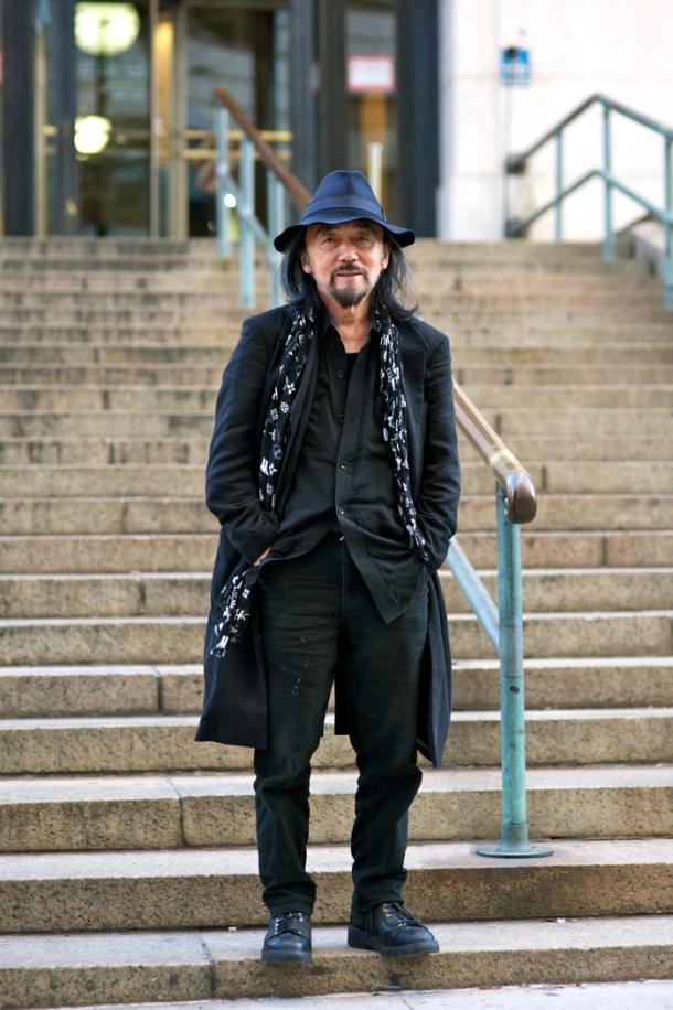 Yohji Yamamoto Y-3 NYFW An Unknown Quantity New York Fashion Street Style Blog1