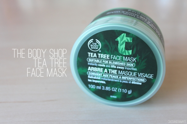 THE BODY SHOP TEA TREE FACE MASK 1