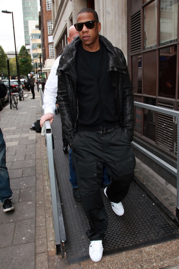 Jay-Z sighted leaving BBC Radio One on November 3, 2010 in London, England. Celebrity Sightings In London - November 3, 2010 London, England United Kingdom November 3, 2010 Photo by Neil Mockford/FilmMagic.com To license this image (62305536), contact FilmMagic.com