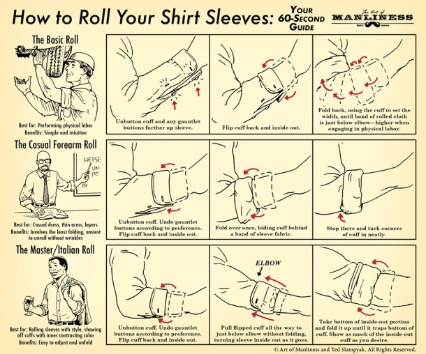 How-to-Roll-Your-Shirt-Sleeves