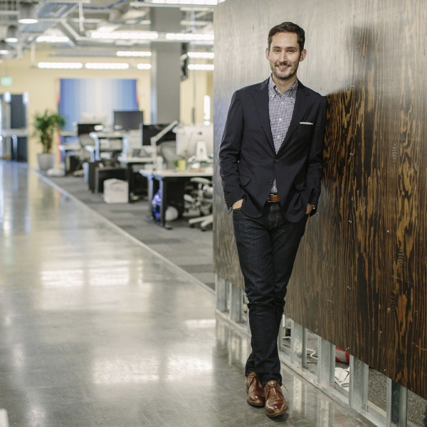 Kevin Systrom, chief executive and co-founder of Instagram, who says he has no interest in leaving Instagram to run Twitter, despite the hopes of some on Wall Street that he would consider the job, in Menlo Park, Calif., June 22, 2015. On June 23, Instagram began tapping into the 70 million photos and videos posted daily to its service to put its 300 million users in the middle of current events. (Matt Edge/The New York Times)