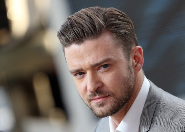 """US actor and singer Justin Timberlake takes part on May 20, 2013 in the show """"Le Grand Journal"""" on the set of the French TV Canal+, on the sidelines the 66th Cannes film festival in Cannes. Cannes, one of the world's top film festivals, opened on May 15 and will climax on May 26 with awards selected by a jury headed this year by Hollywood legend Steven Spielberg. AFP PHOTO / LOIC VENANCE (Photo credit should read LOIC VENANCE/AFP/Getty Images)"""