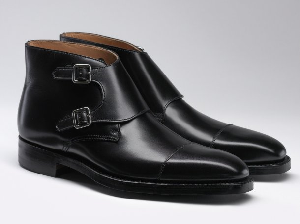 crockett & jones x james bond spectre - camberley - black calf