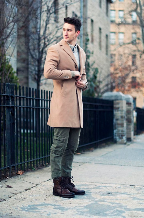 military-gentleman-boots-beige-coat-streetstyle (1)