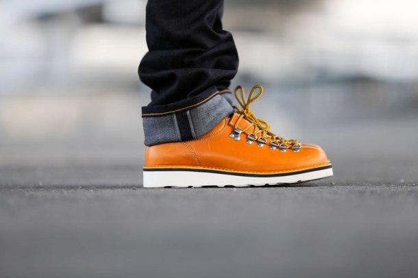 Fracap-yellow-shoe-Naked-and-Famous-Deep-Indigo-Stretch-Selvage-Dukes-of-Barrington-spring-Summer-15-Lookbook