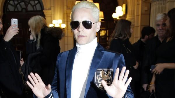 la-et-mg-jared-leto-blond-hair-paris-balmain-20150305