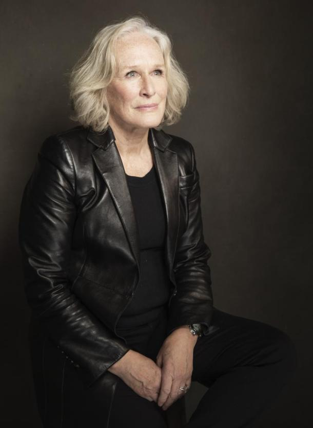 Glenn Close poses for a portrait at The Collective and Gibson Lounge Powered by CEG, during the Sundance Film Festival, on Monday, Jan. 20, 2014 in Park City, Utah. (Photo by Victoria Will/Invision/AP)