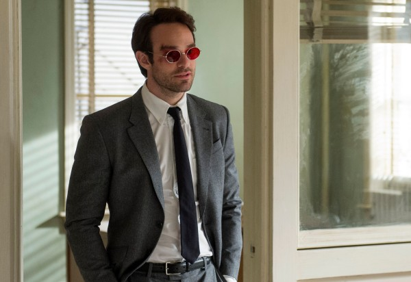 """Charlie Cox stars in the Netflix Original Series """"Marvel's Daredevil."""" Photo: Barry Wetcher © 2014 Netflix, Inc. All Rights Reserved."""
