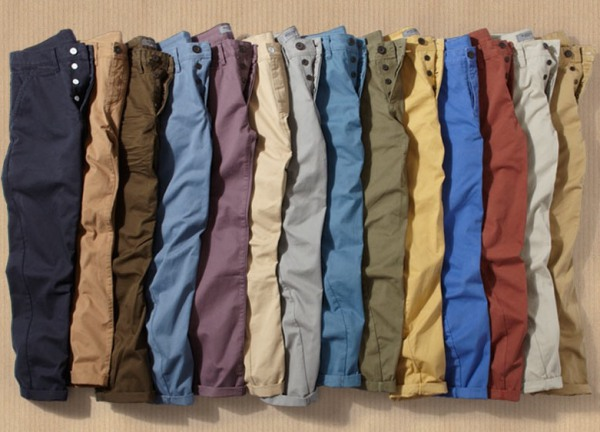 chinos colors
