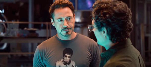 How Robert Downey Jr. got a shirt of Bruce Lee DJing into 'Avengers Age of Ultron'