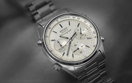 """Primary Seiko James Bond watch featured in """"A View to a Kill"""""""