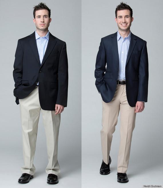 Một ví dụ cho thấy tầm quan trọng của việc mặc đồ đúng size.