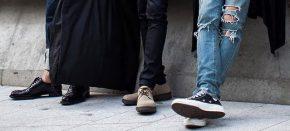 Chọn giày để phối với từng loạiquần
