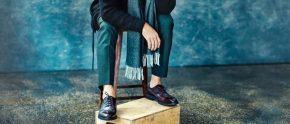 Kết hợp màu giày vớiquần